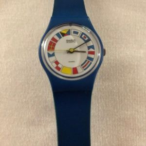 Vintage 12 Flags Swatch Watch